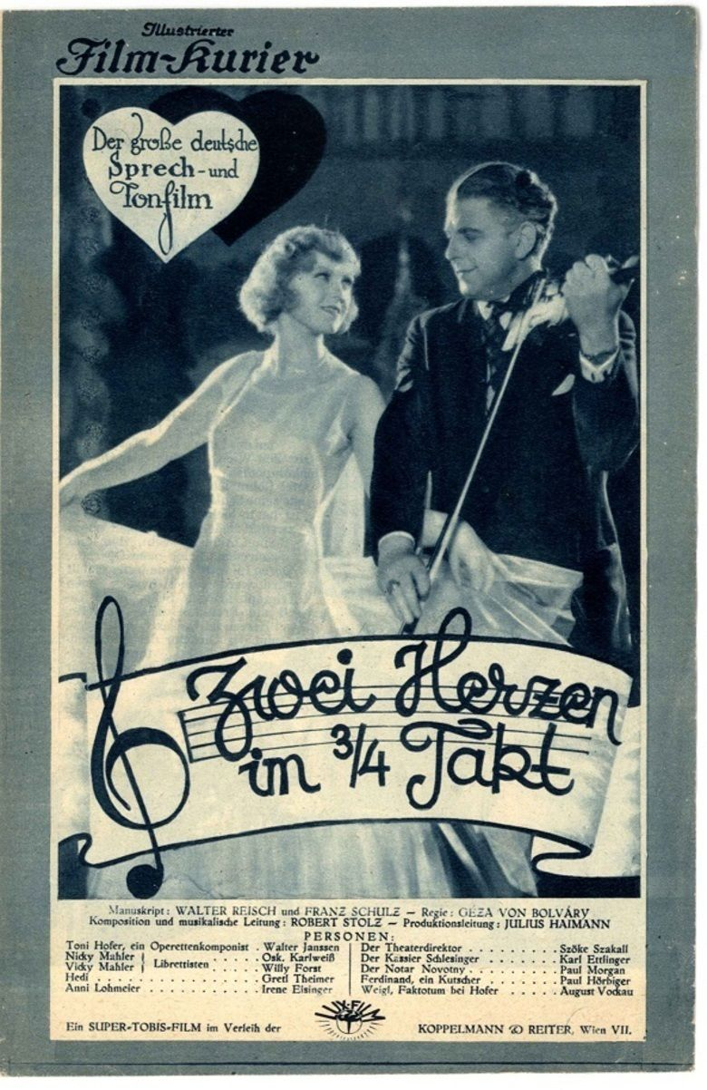 Two Hearts in Waltz Time movie poster