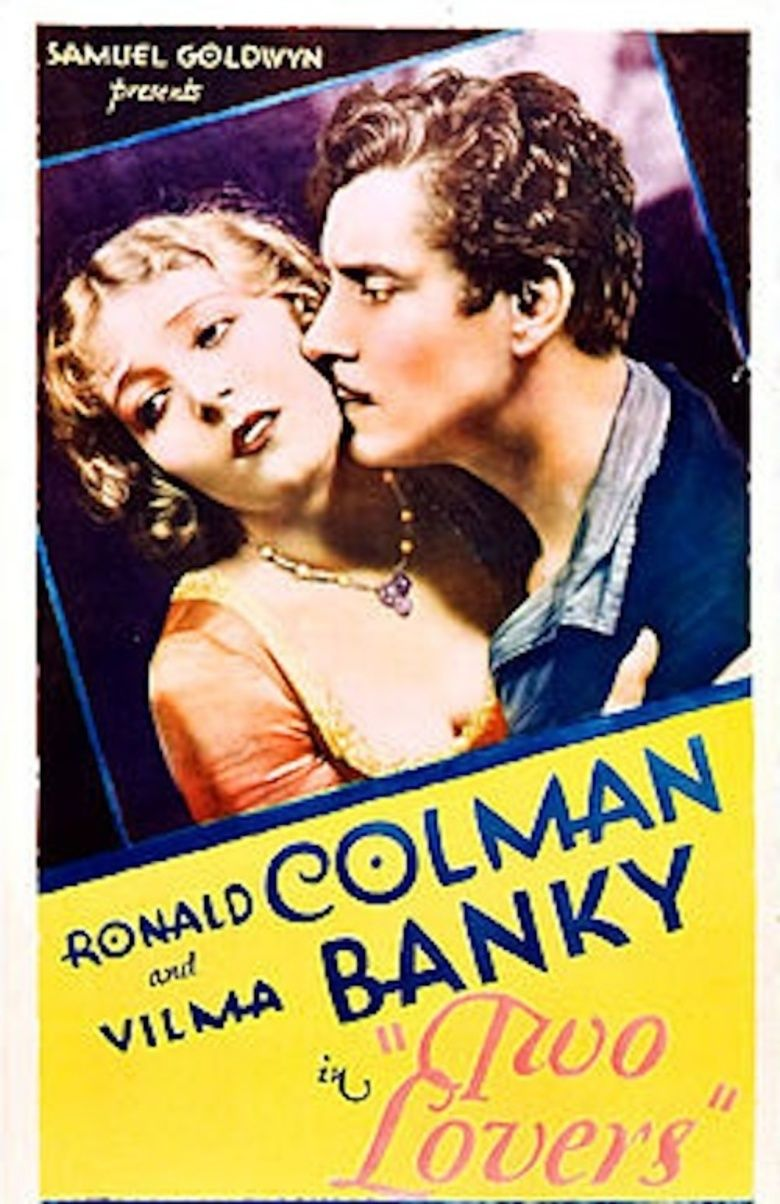 Two Lovers (1928 film) movie poster