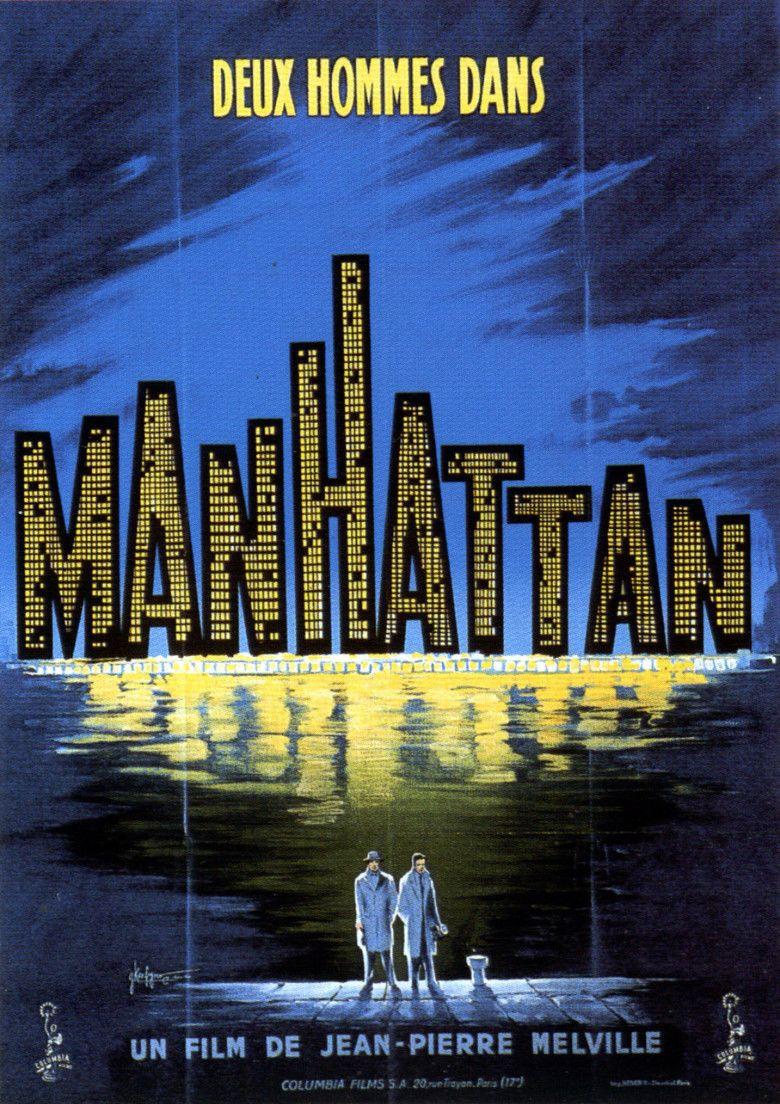 Two Men in Manhattan movie poster