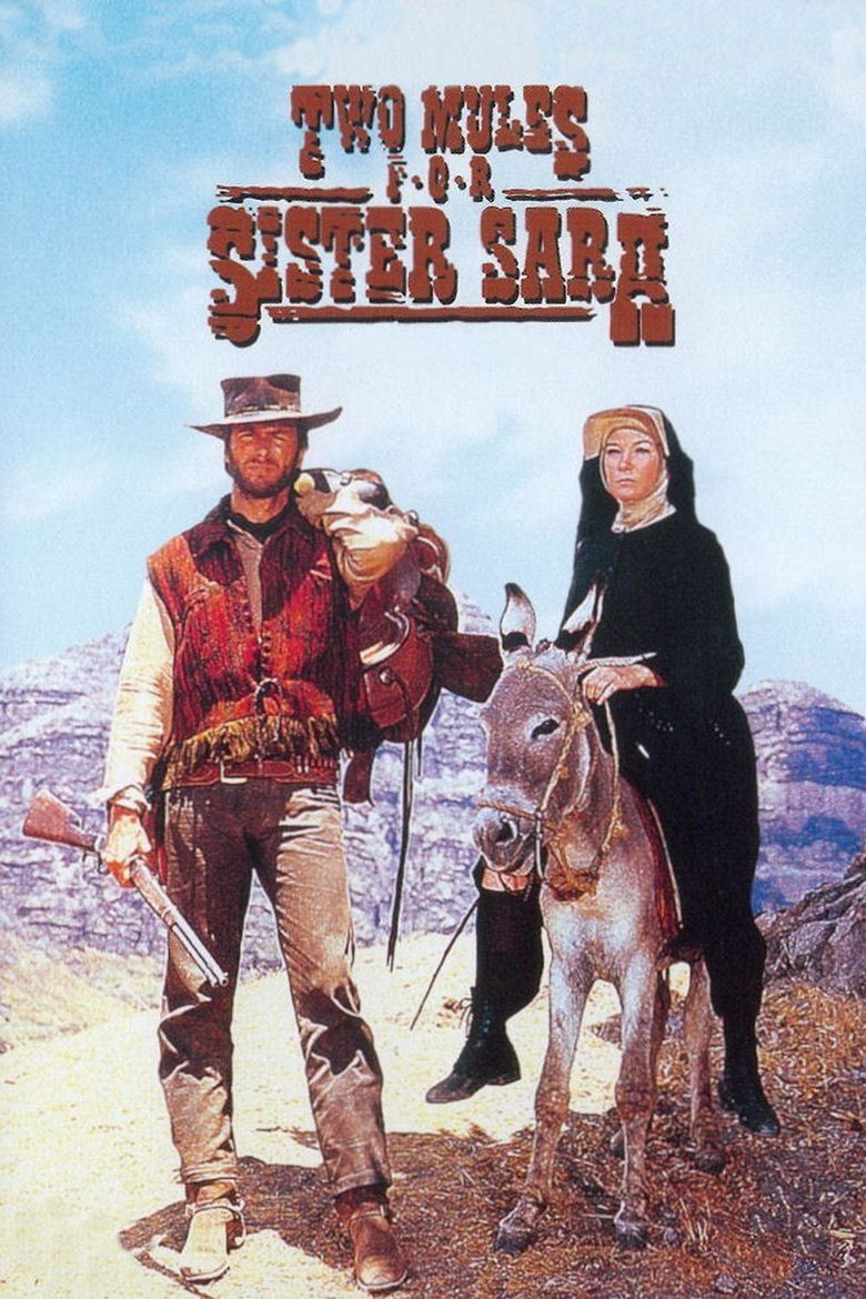 Two Mules for Sister Sara movie poster