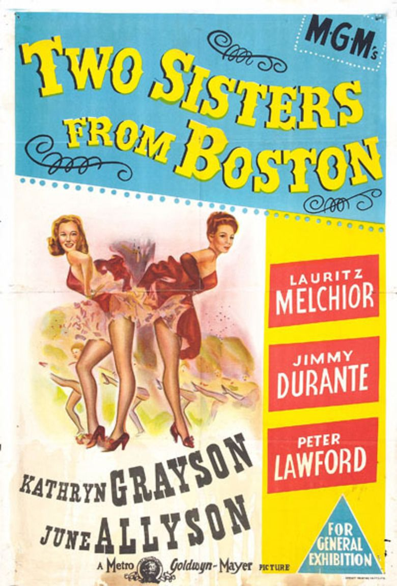 Two Sisters from Boston movie poster
