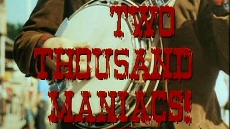 Two Thousand Maniacs! movie scenes
