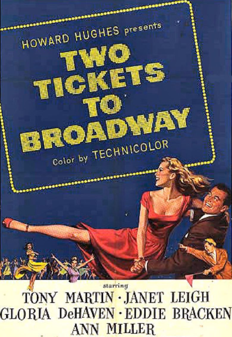 Two Tickets to Broadway movie poster