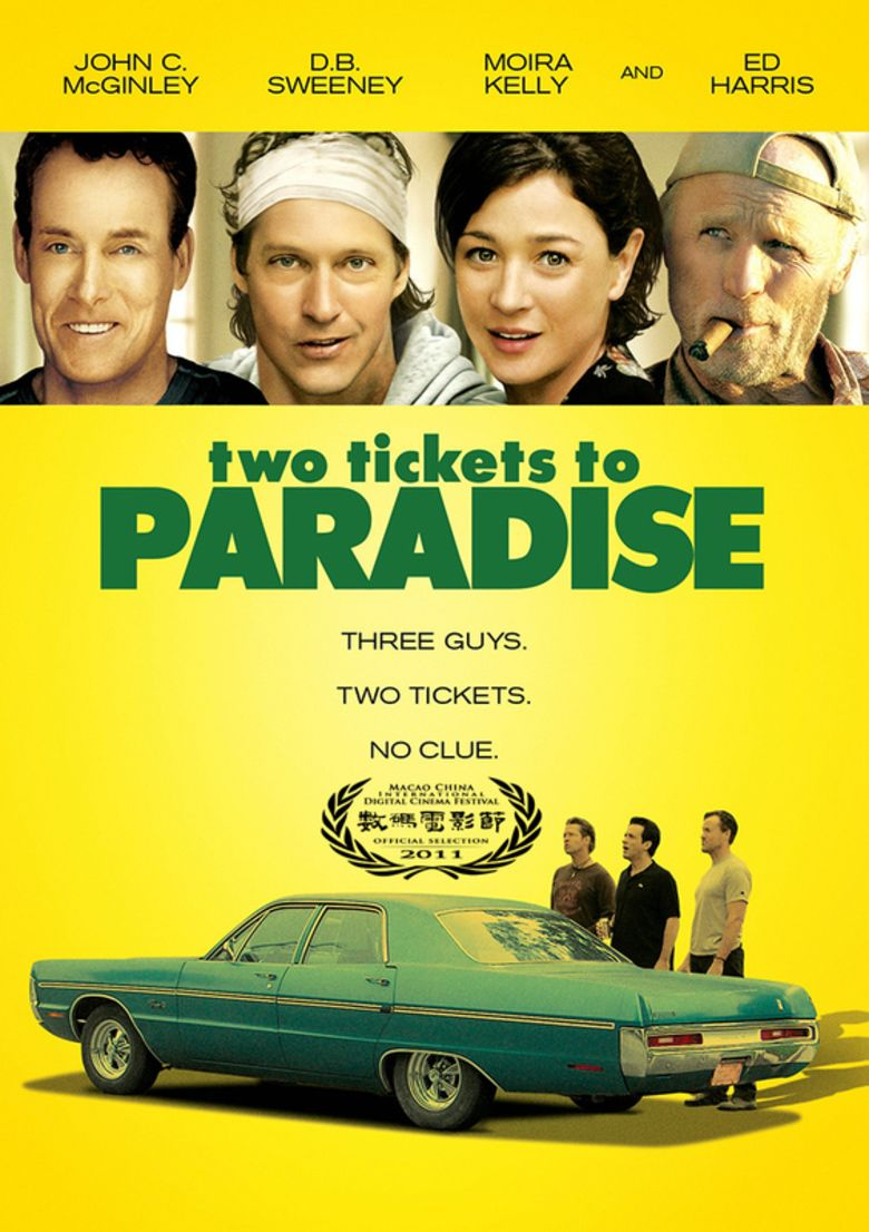 Two Tickets to Paradise (film) movie poster