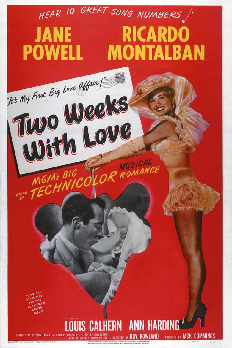 Two Weeks with Love movie poster