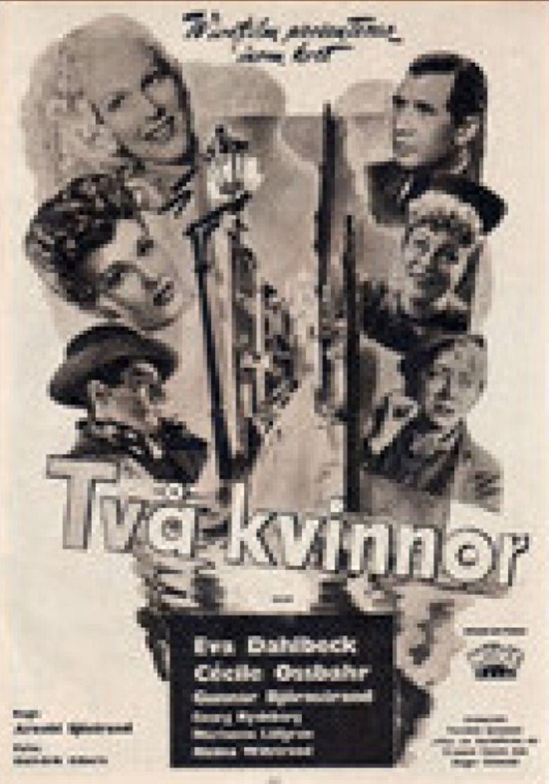 Two Women (1947 film) movie poster
