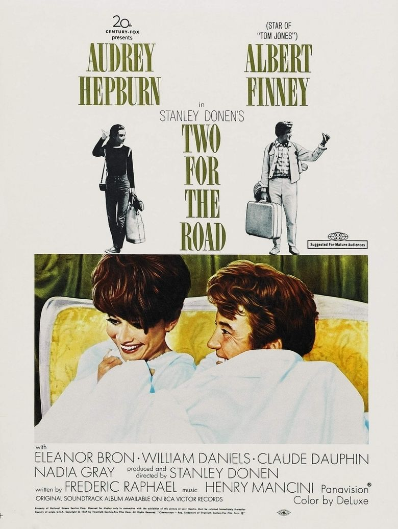 Two for the Road (film) movie poster