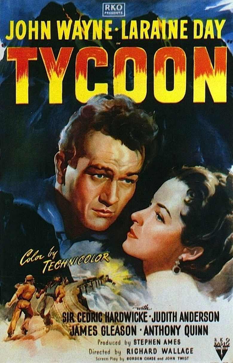 Tycoon (1947 film) movie poster