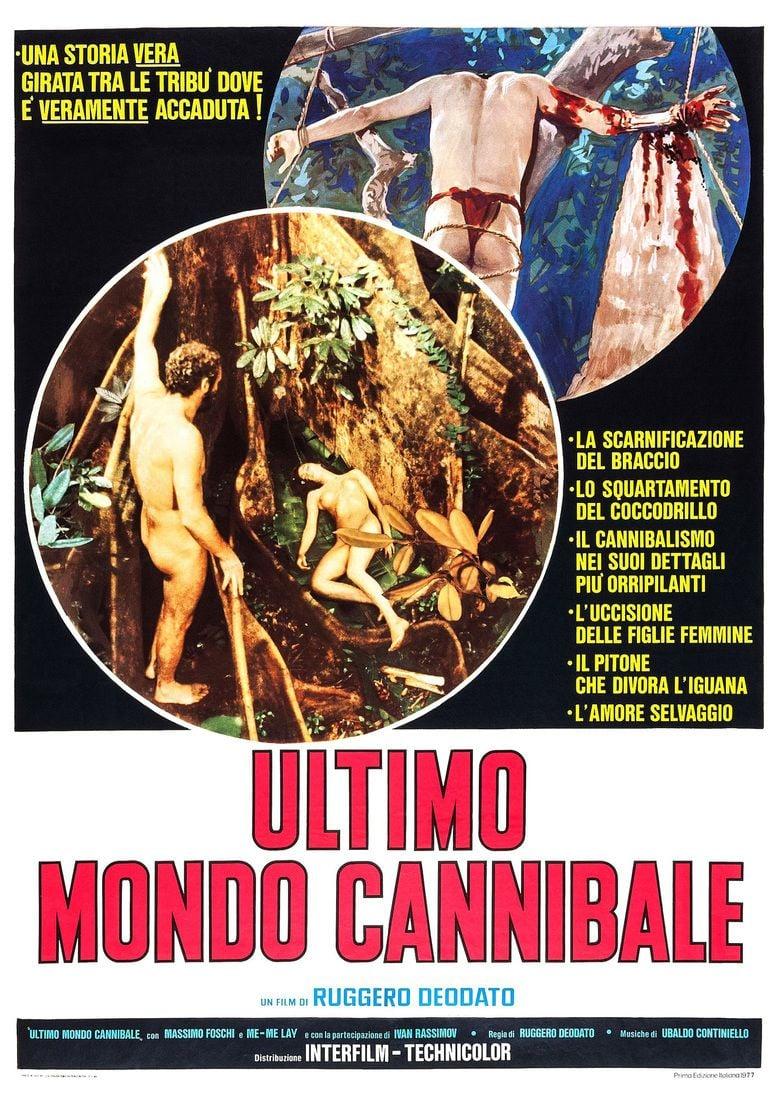 Ultimo mondo cannibale movie poster