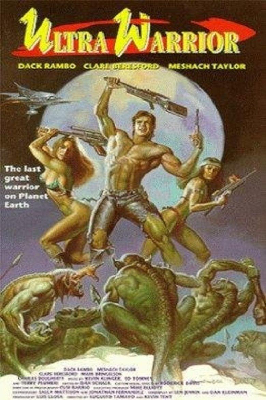 Ultra Warrior movie poster