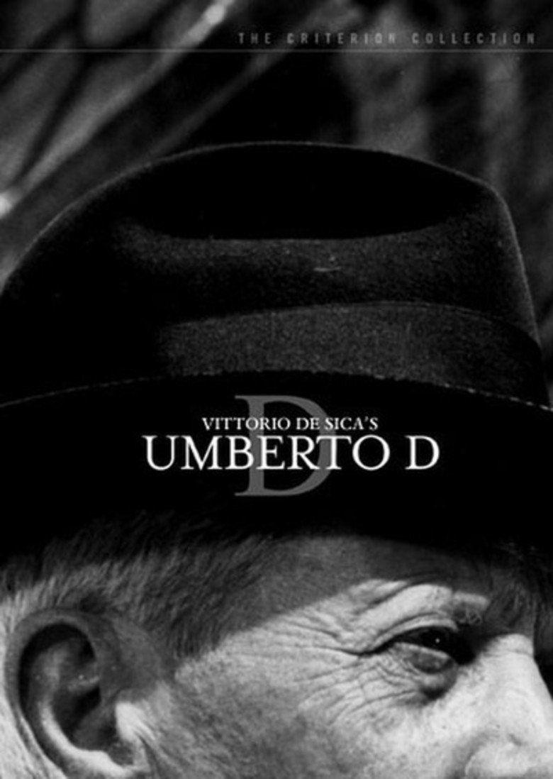 Umberto D movie poster