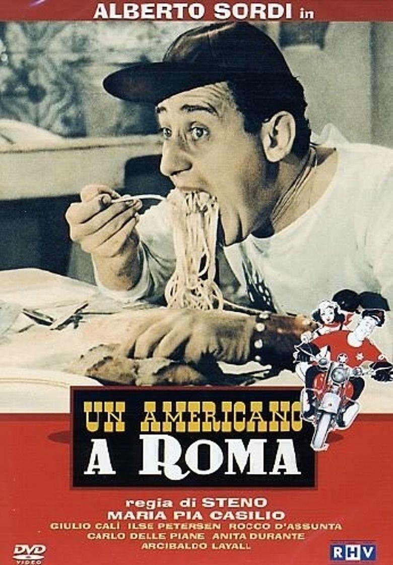 Un americano a Roma movie poster