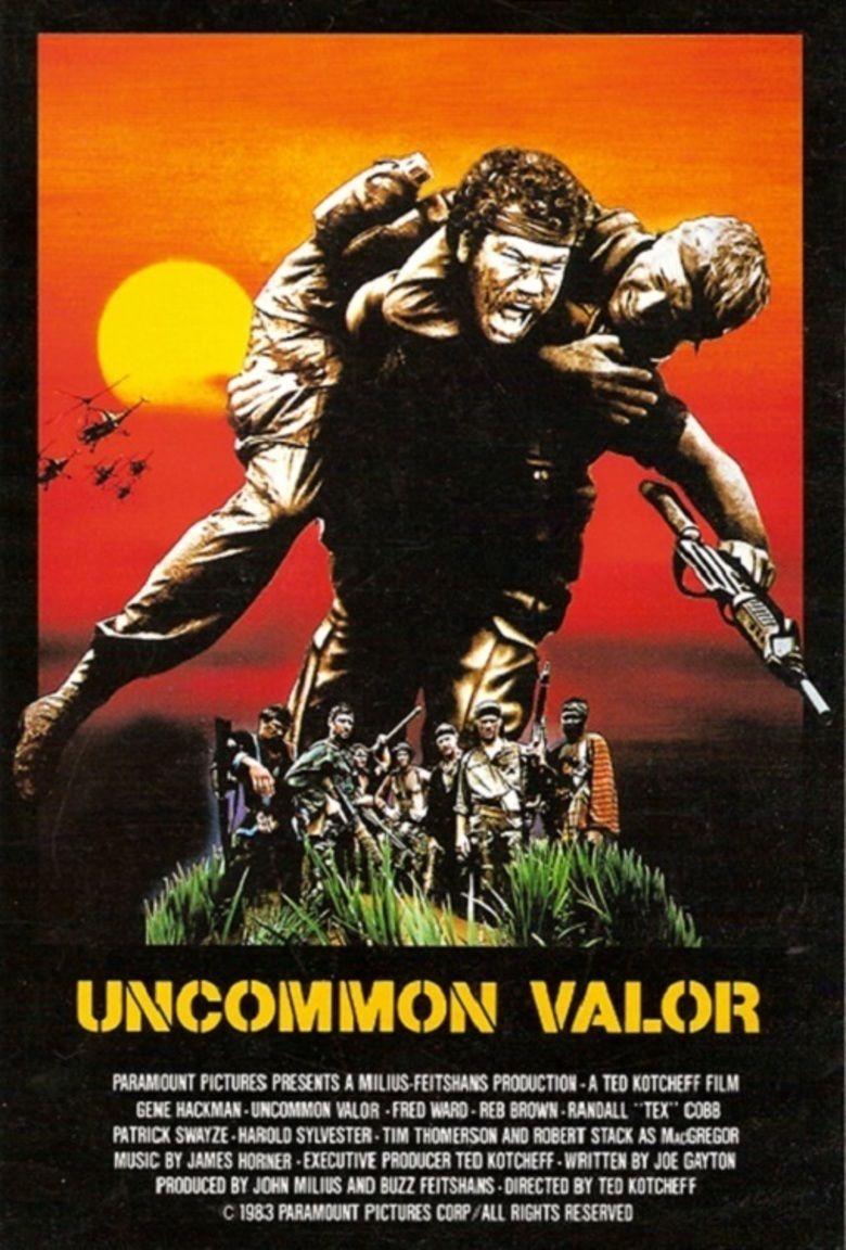 Uncommon Valor movie poster