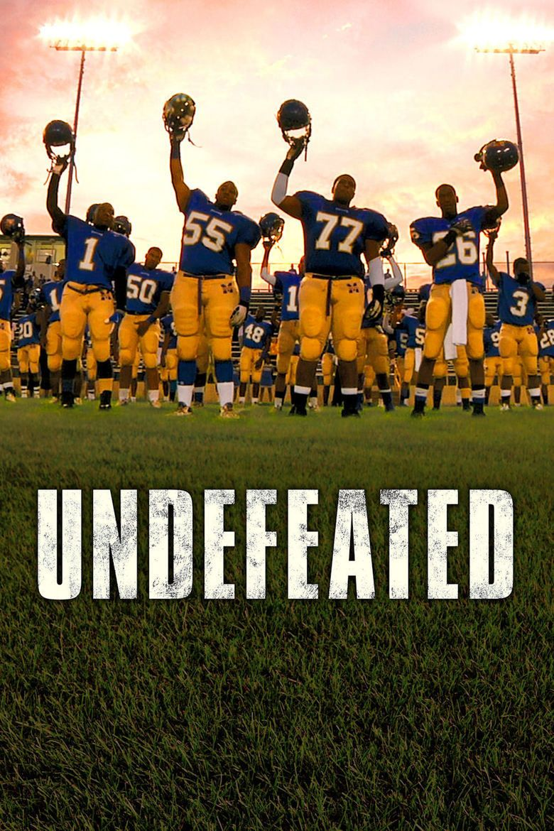 Undefeated (2011 film) movie poster
