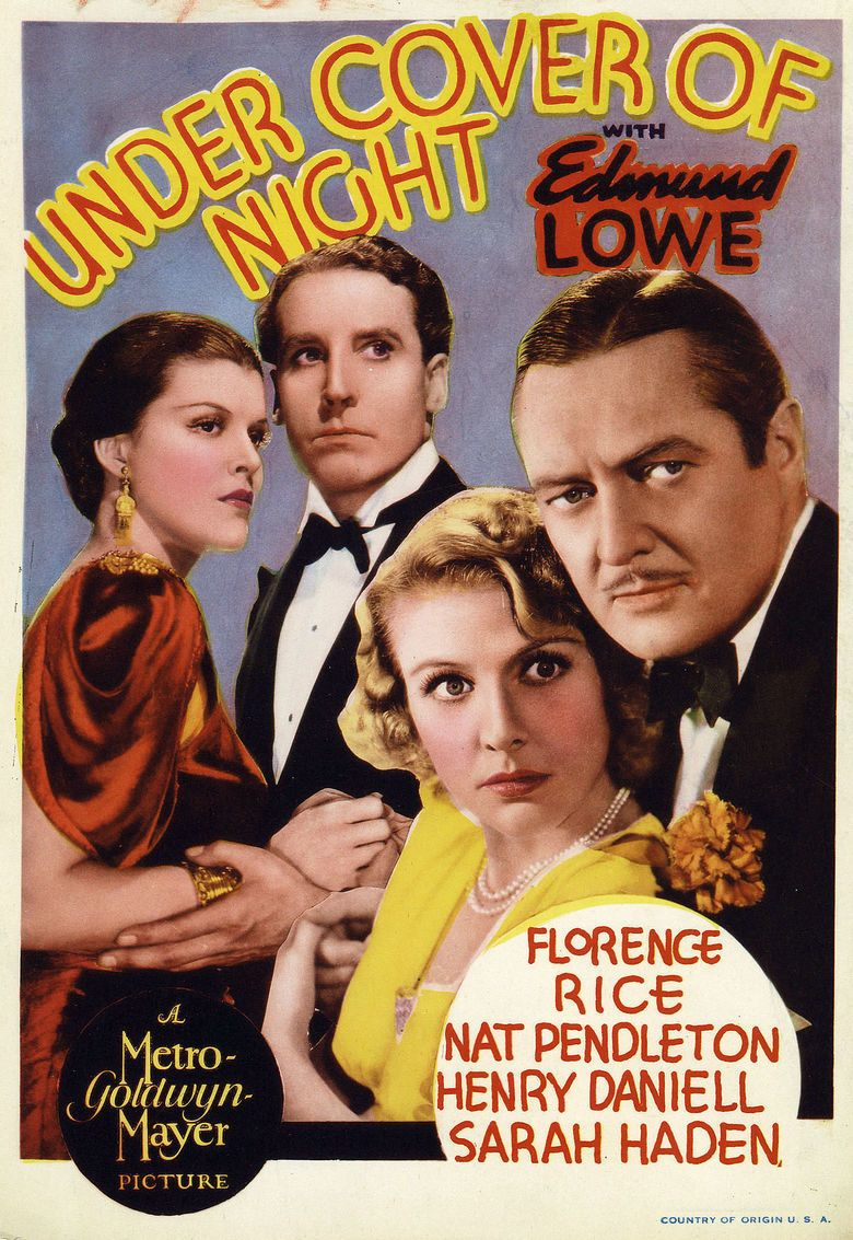 Under Cover of Night movie poster
