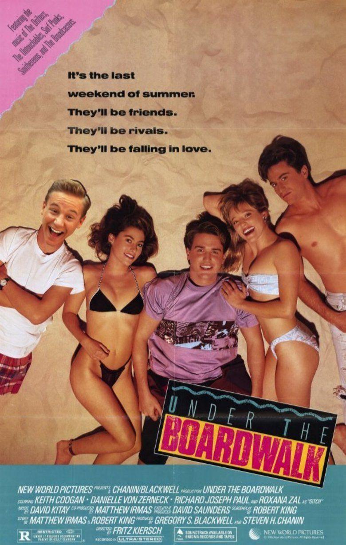 Under the Boardwalk (film) movie poster