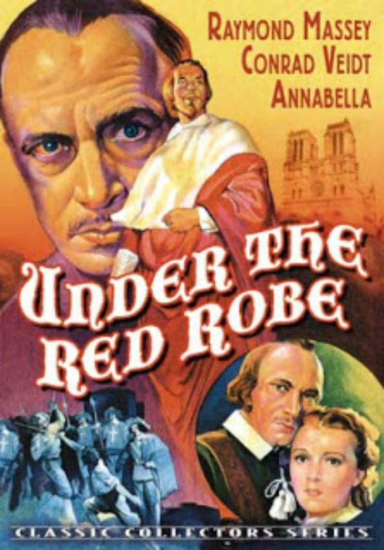 Under the Red Robe (1937 film) movie poster