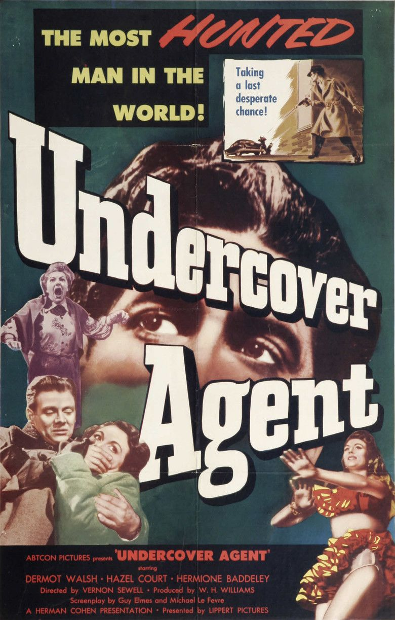 Undercover Agent (film) movie poster