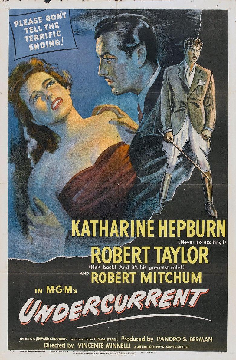 Undercurrent (1946 film) movie poster