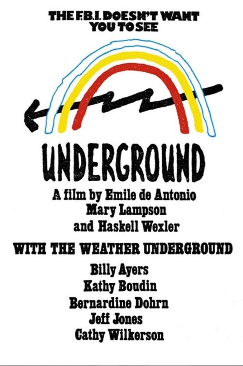 Underground (1976 film) movie poster