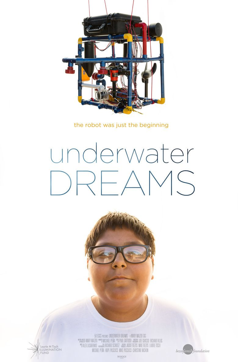 Underwater Dreams movie poster