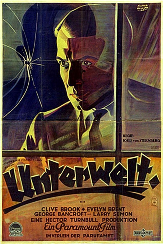 Underworld (1927 film) movie poster