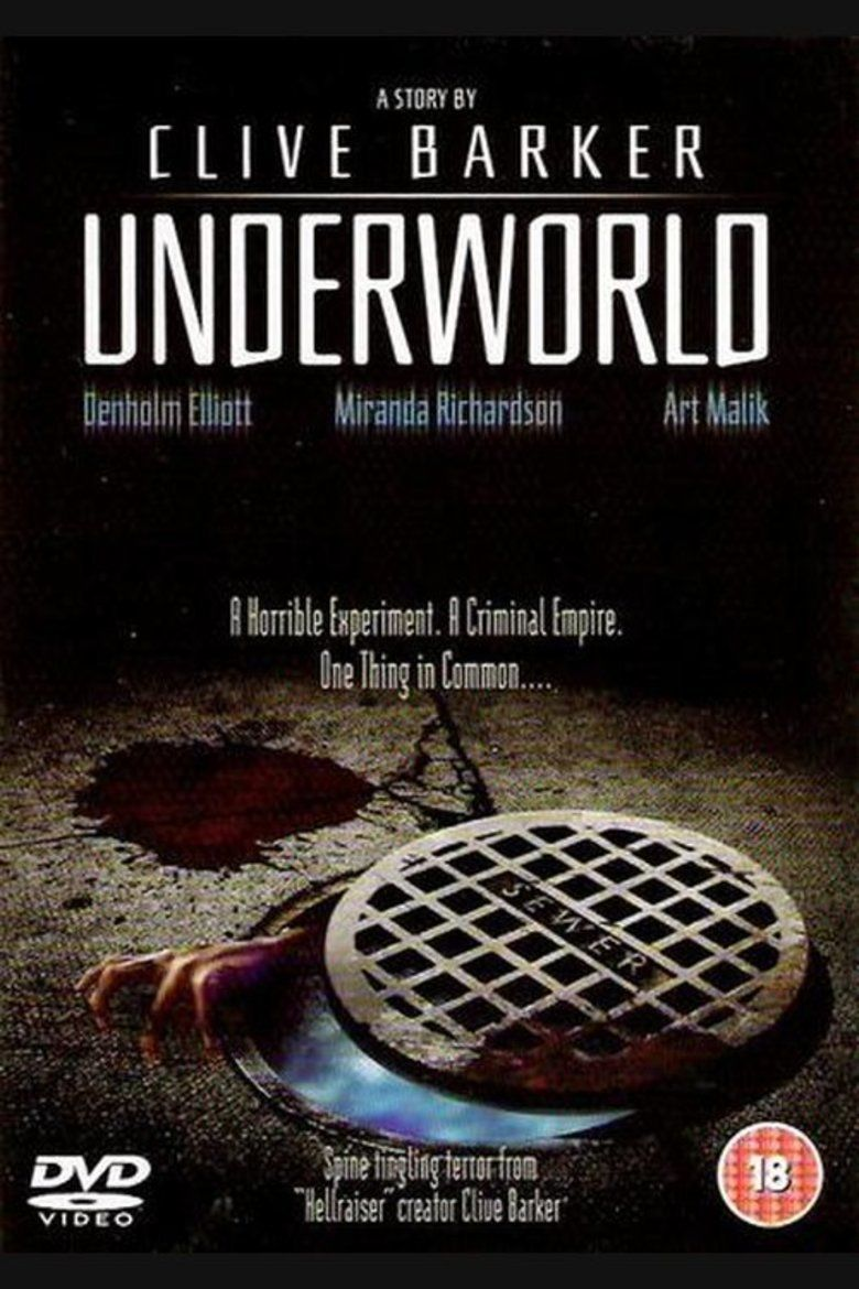 Underworld (1985 film) movie poster