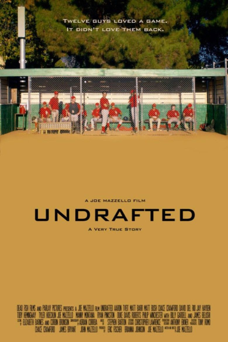 Undrafted (film) movie poster