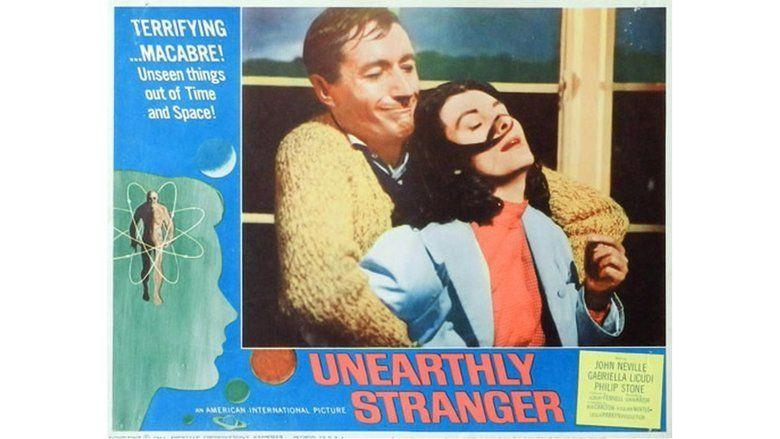 Unearthly Stranger movie scenes