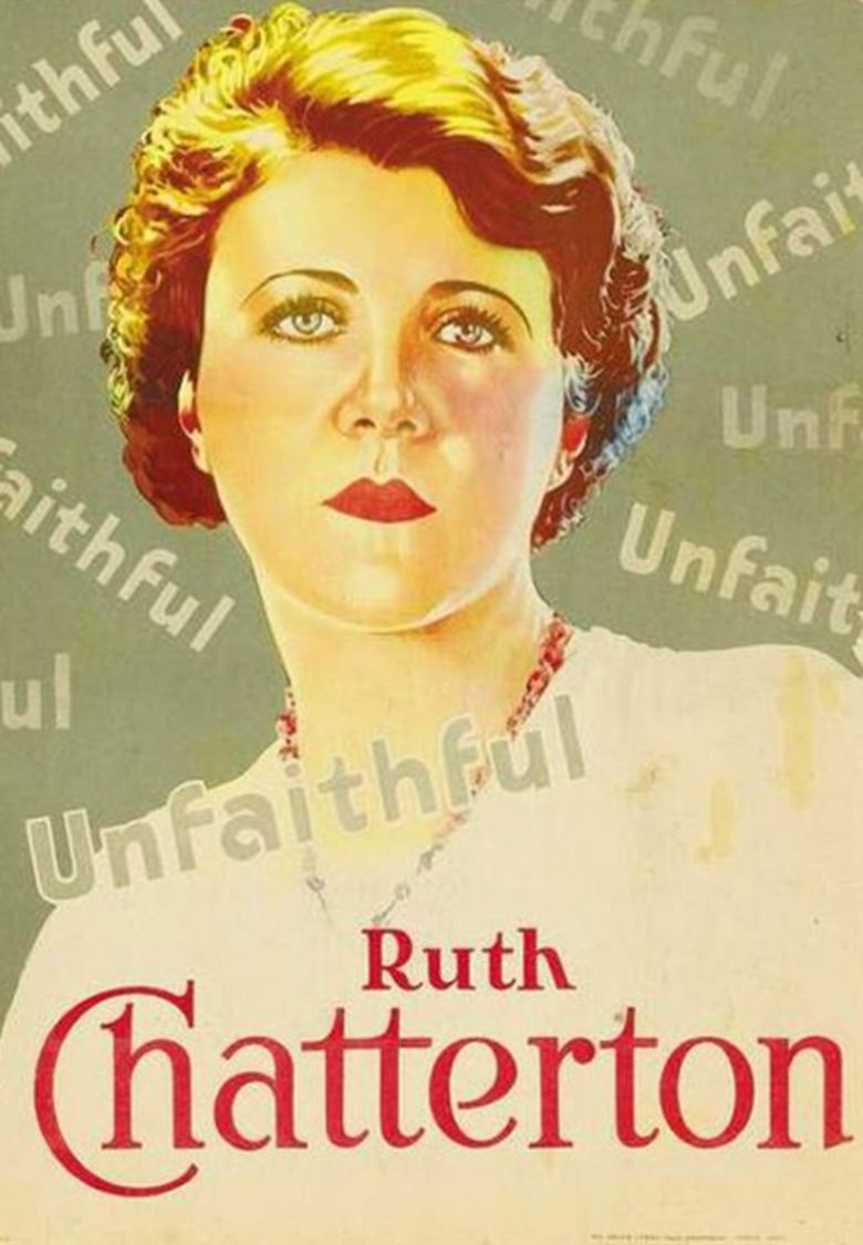 Unfaithful (1931 film) movie poster