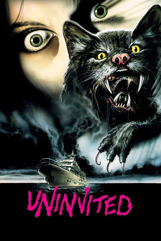 Uninvited (1988 film) movie poster