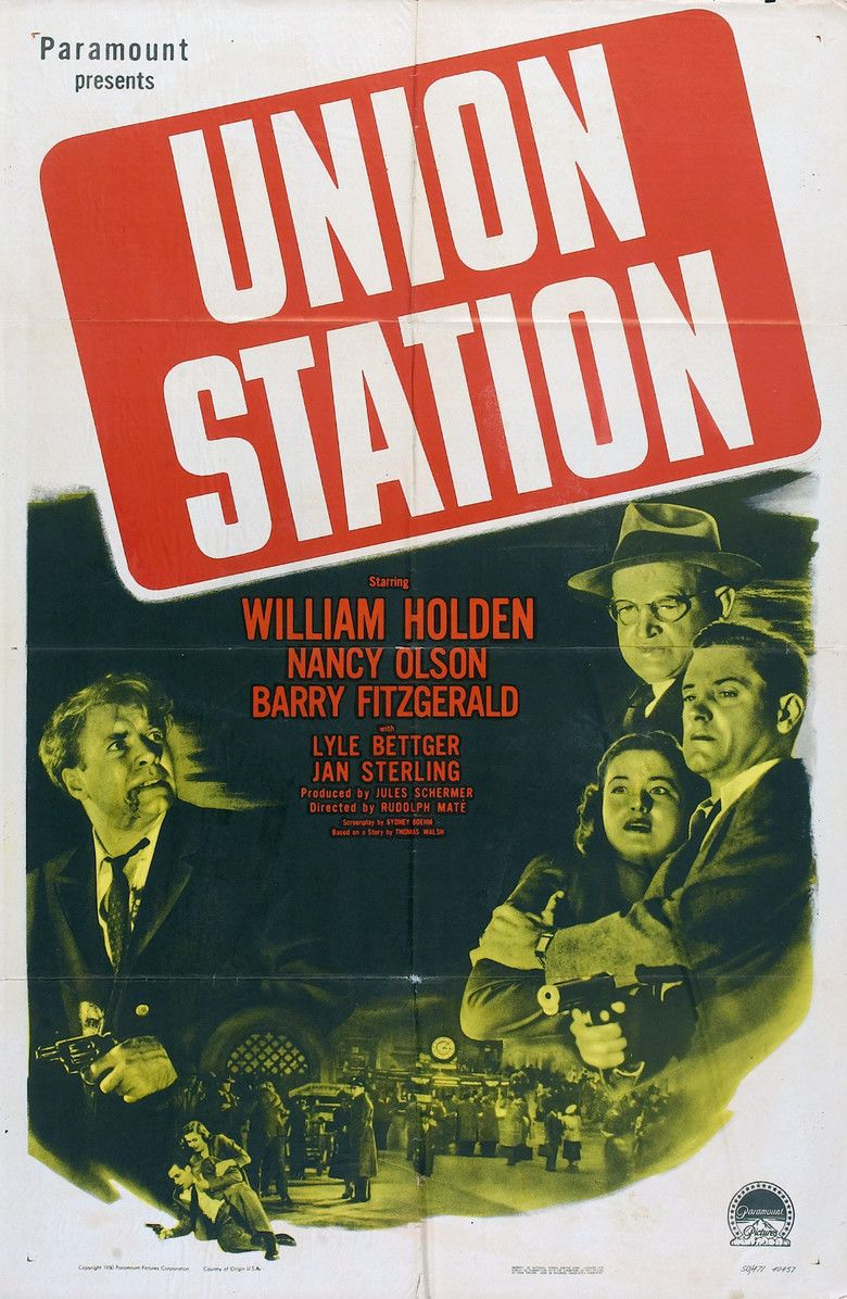 Union Station (film) movie poster