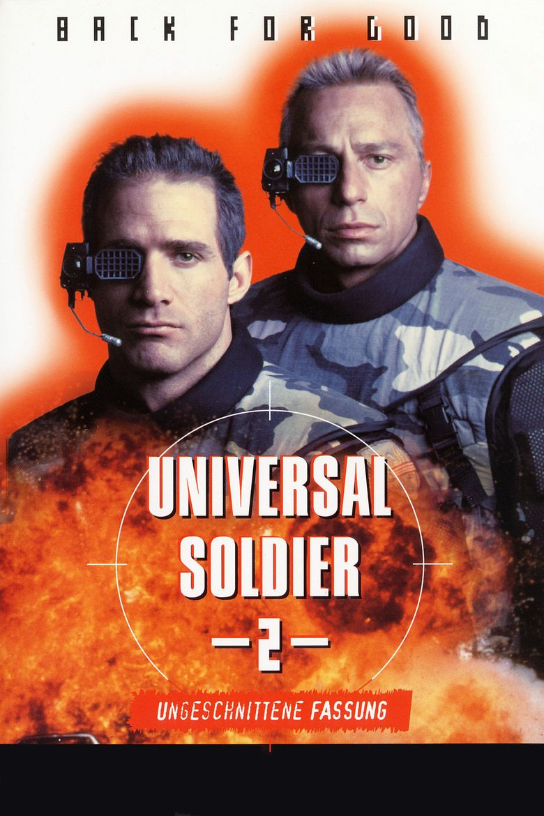 Universal Soldier II: Brothers in Arms movie poster
