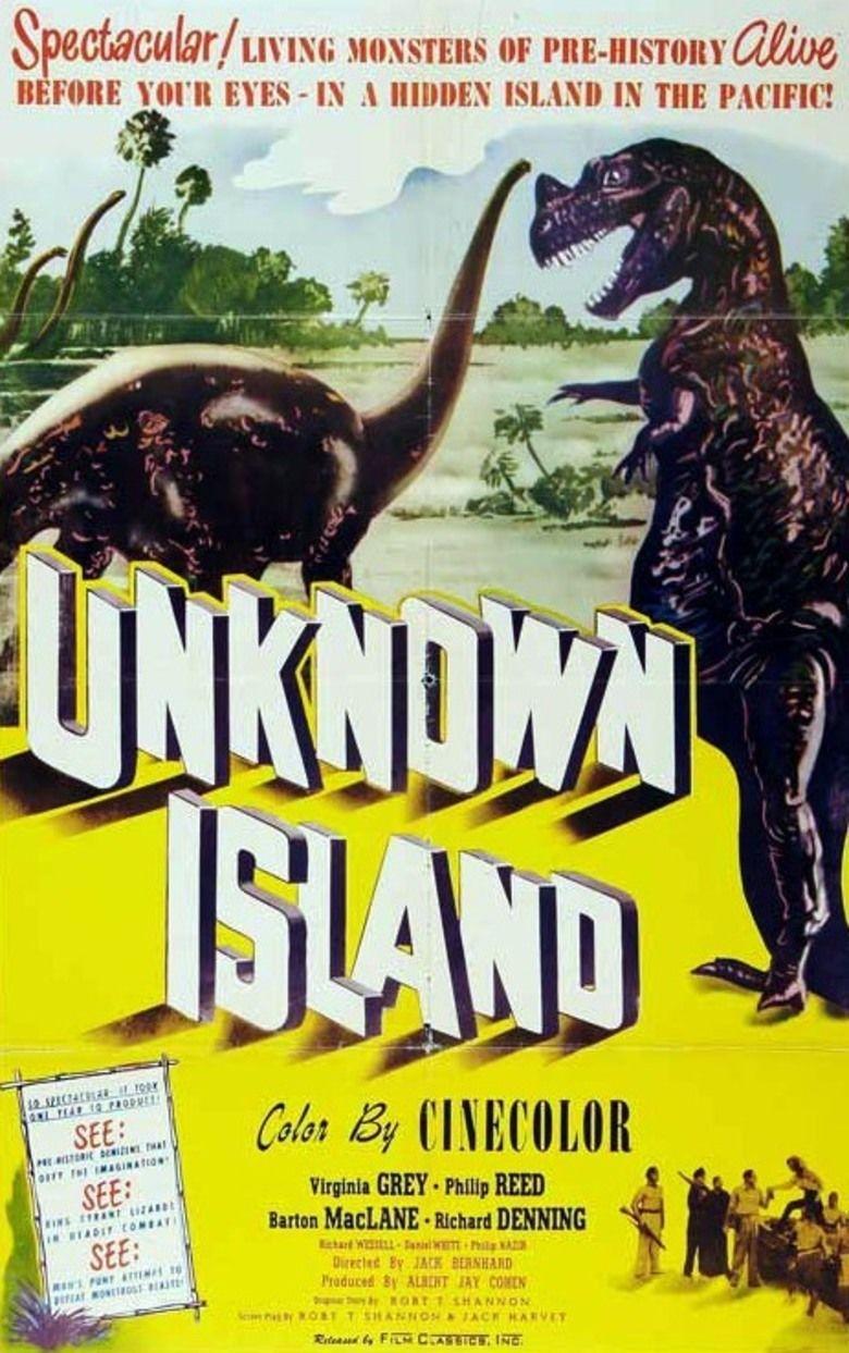 Unknown Island movie poster