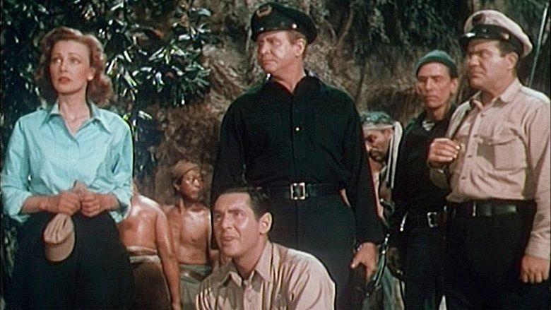 Unknown Island movie scenes