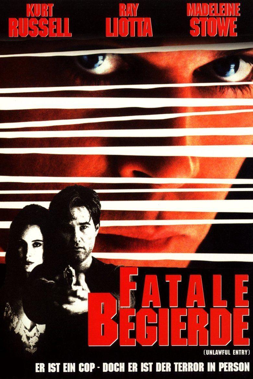 Unlawful Entry (film) movie poster