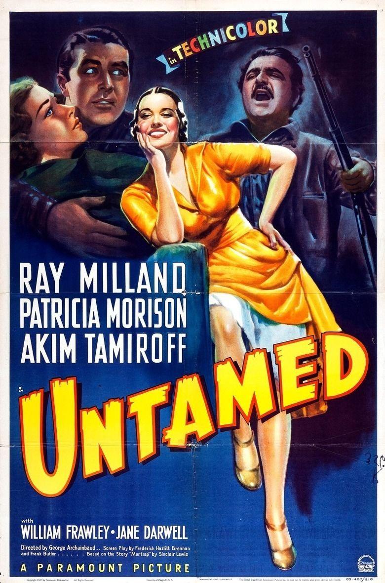 Untamed (1940 film) movie poster