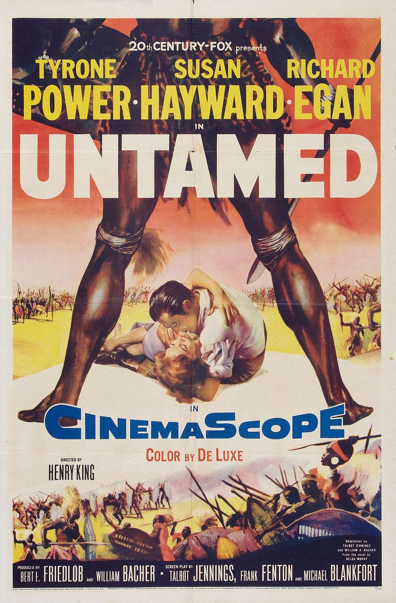 Untamed (1955 film) movie poster