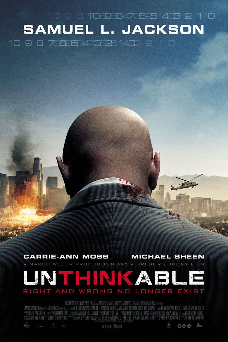 Unthinkable movie poster