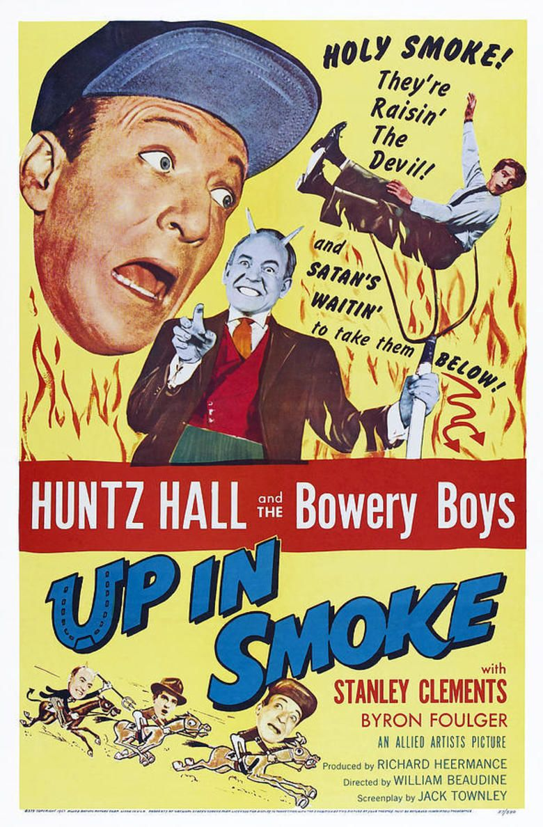Up in Smoke (1957 film) movie poster