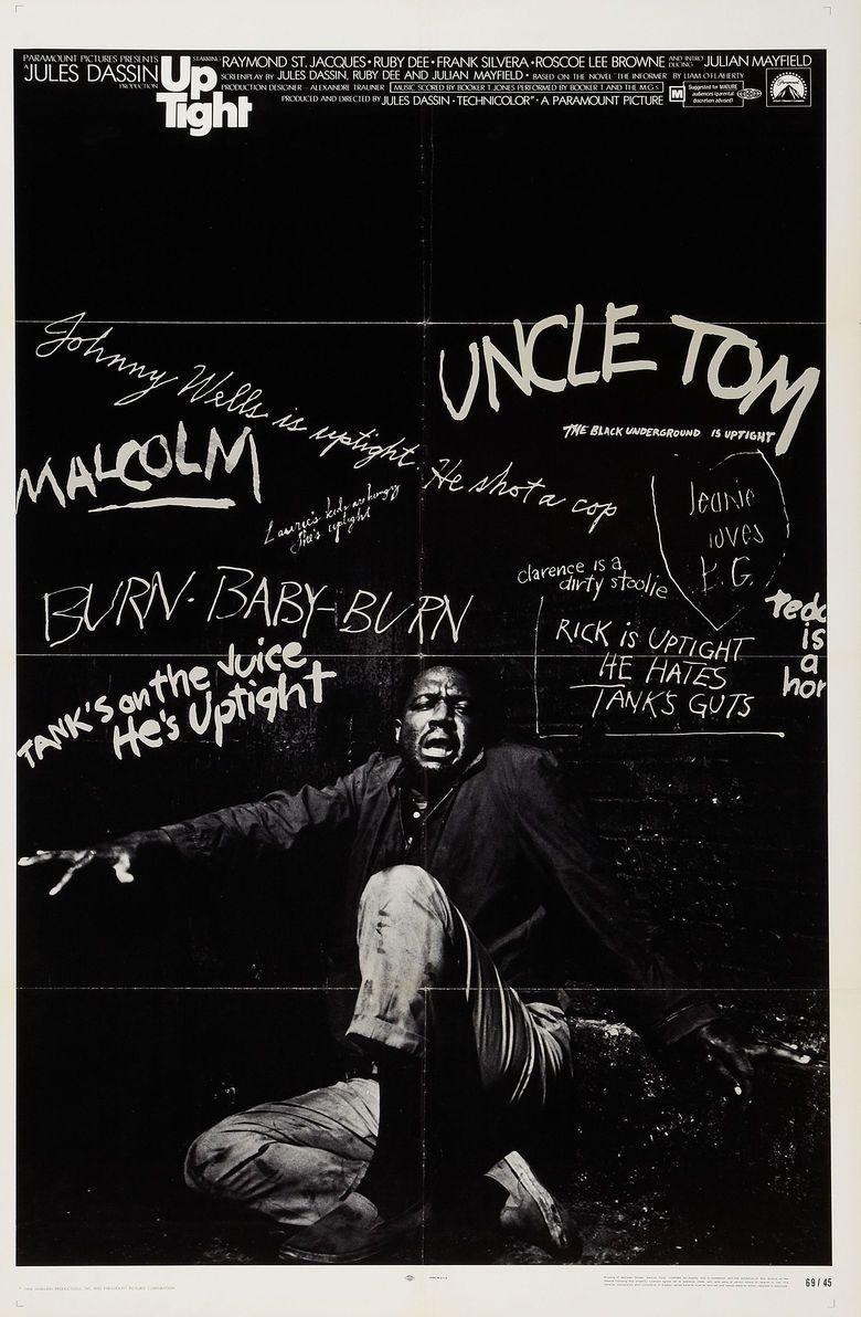 Uptight (film) movie poster