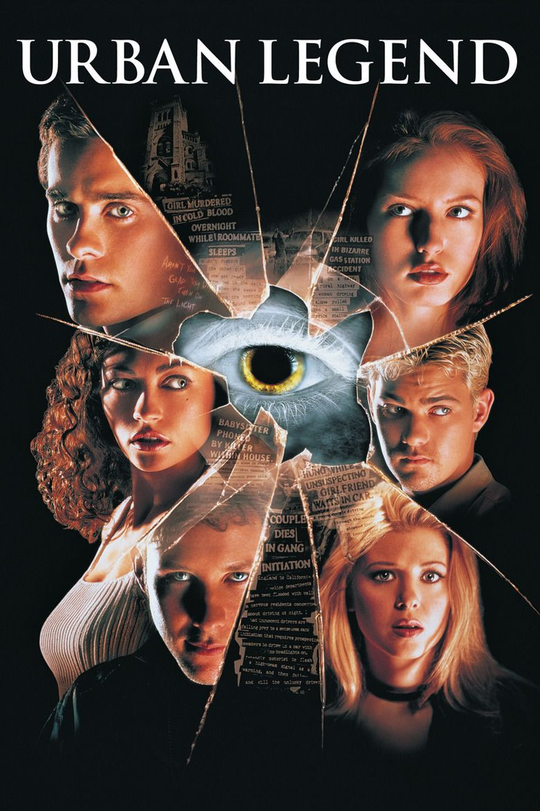 Urban Legend (film) movie poster