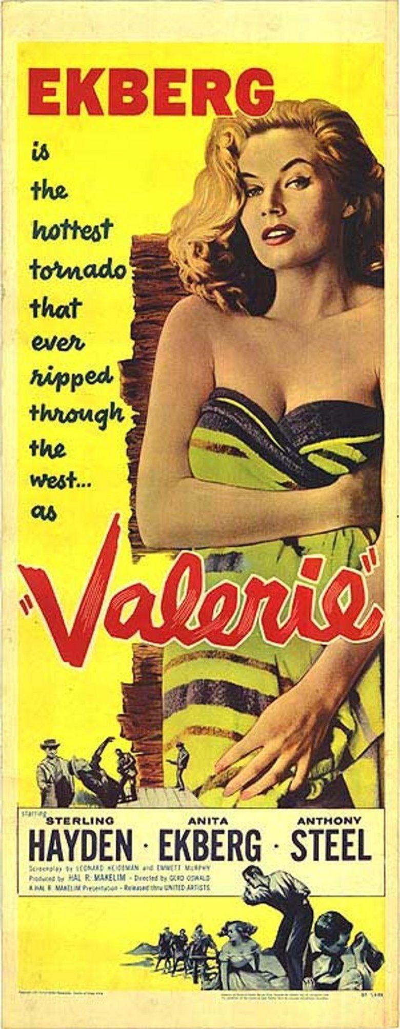 Valerie (film) movie poster
