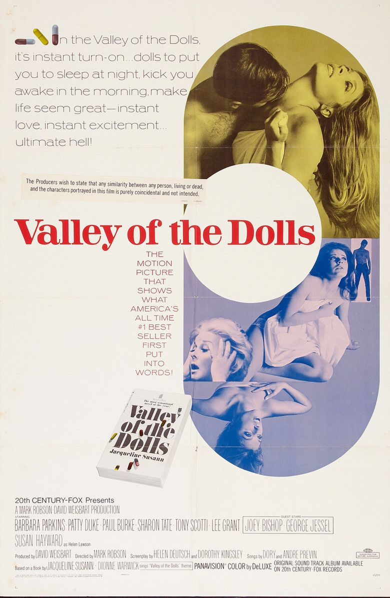 Valley of the Dolls (film) movie poster