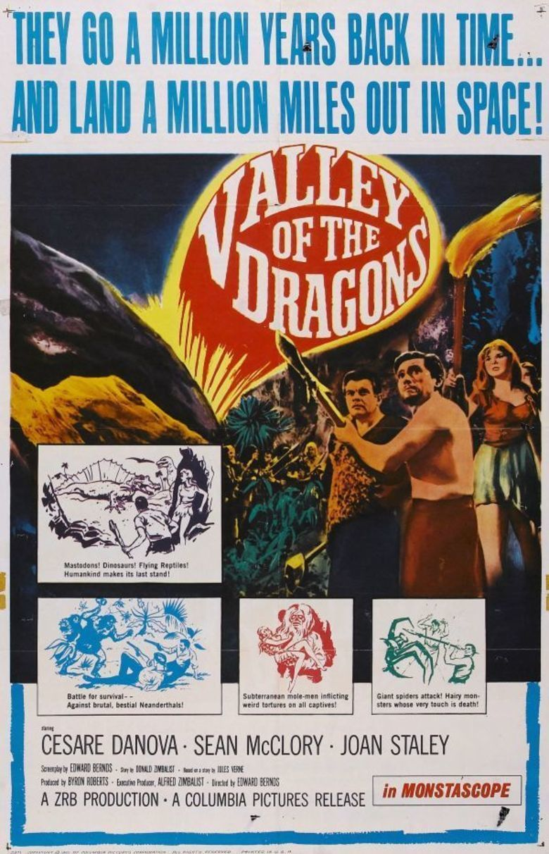 Valley of the Dragons (1961 film) movie poster