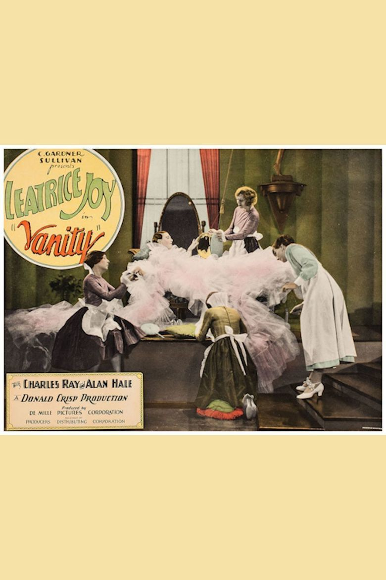 Vanity (1927 film) movie poster