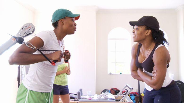 Venus and Serena (film) movie scenes
