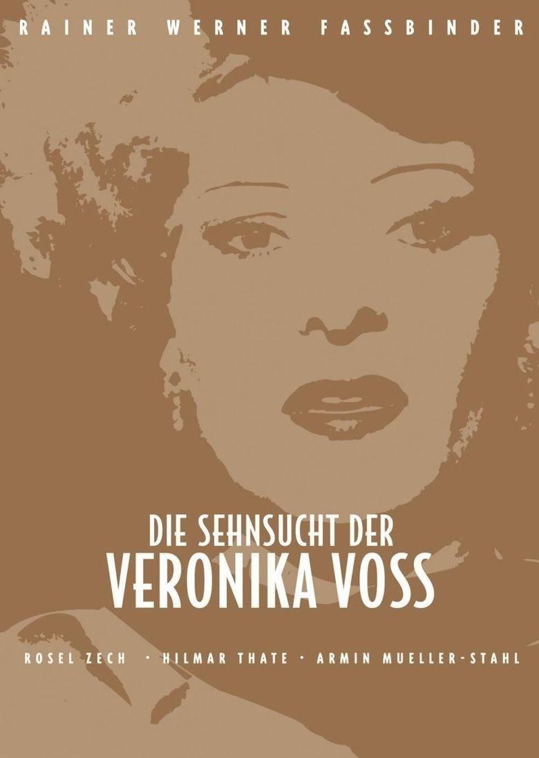 Veronika Voss movie poster