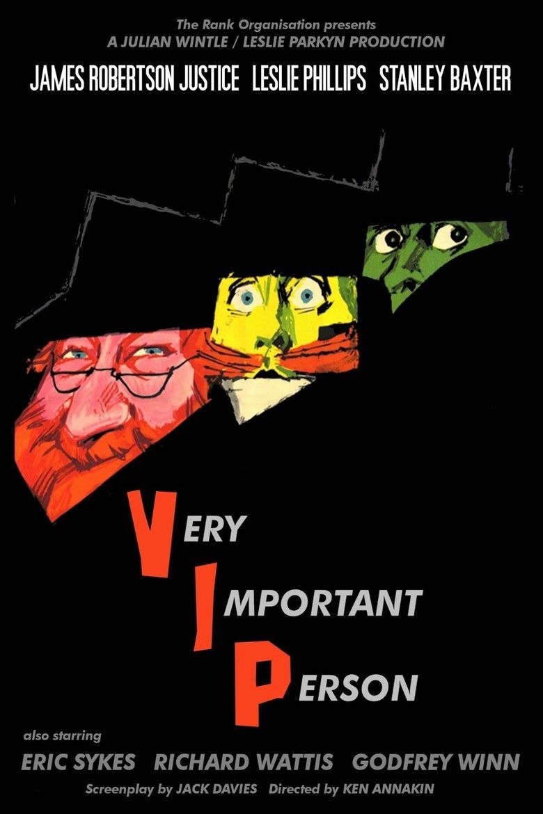 Very Important Person (film) movie poster