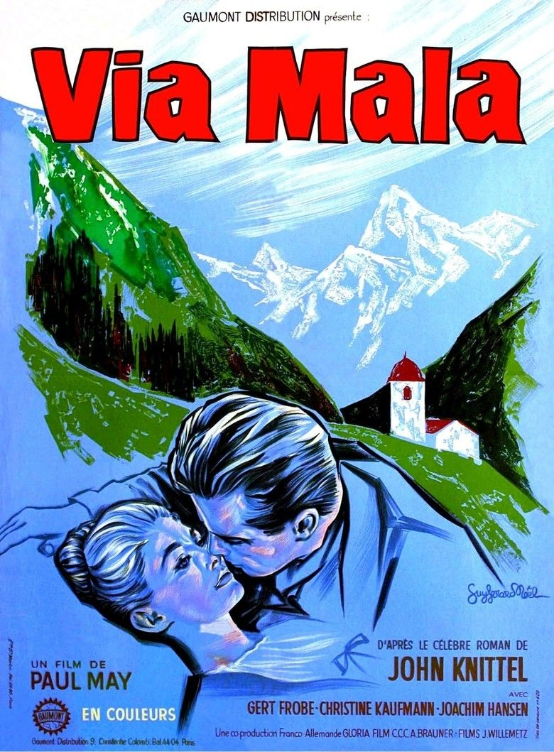 Via Mala (1961 film) movie poster